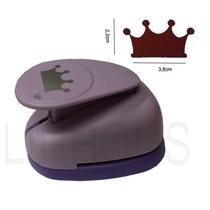 Furador Scrapbook Coroa Princesa Corte 3,8cm X 2,2cm