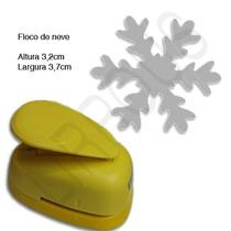 Furador Scrapbook Floco De Neve Gelo Papel Artesanato