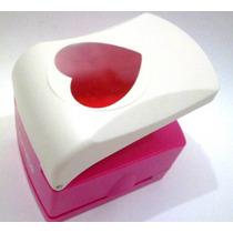 Furador Scrapbook Coração Corte 4,5cm - Papel E Eva