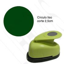 Furador Scrapbook Círculo Liso Corte 2,5cm