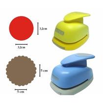Kit Furador Círculo Escalope 5cm + Círculo Liso 3,2cm