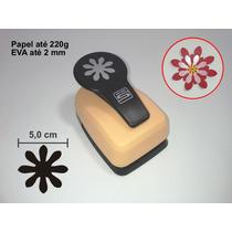 Furador Scrapbook Flor 8 Petalas 5 Cm Corta Papel E Eva