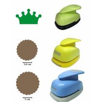 Kit Furadores Circulo Escalope 5cm + 3,8cm + Coroa 2,5cm