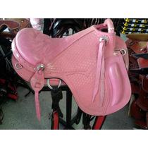 Sela Americana Hipica - Cavalo - Assento Rosa