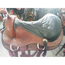 Sela Completa Americana - Cavalo / Couro - Frete Gratis