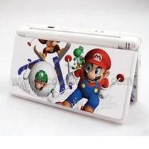 Adesivo Skin Para Nintendo Dslite Mario Bros