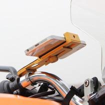 Suporte Gps,celular Para Motos,bicicletas,em Alumínio