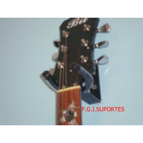 Suporte De Parede Para Violão, Guitarra, Baixo