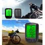Velocimetro Digital Bicicleta Luz Noturna Intensa 24 Funções