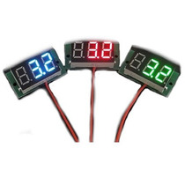 Voltímetro Led Digital 3,2 - 30 Volts Dc Medidor Bateria Som