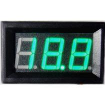 Voltimetro Medidor De Bateria 12v 100v 5~30v Carro Moto