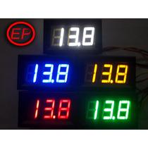 Voltímetro Digital Com Remote 0-100v- Monitor De Baterias