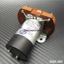 Rele Contatora 200a Contato Cc 48v,bobina 48v Cc P/ Bateria