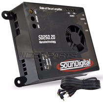 Modulo Soundigital Sd250.2d Sd250 300w Rms 2 Canais Digital