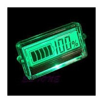 Voltímetro Lcd Medidor Digital Capacidade De Carga Bateria