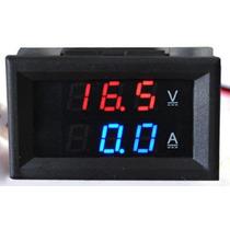Voltímetro E Amperímetro Digital Led Dc 0-200v 200a + Shunt