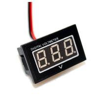 Voltímetro Digital À Prova Dágua Para Moto - Frete Grátis