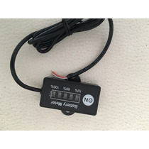 Medidor De Bateria Para Motos / Carros / Kart