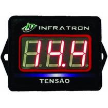 Mini Vtr Voltímetro Digital Infratron