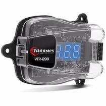 Voltímetro Taramps Vtr-1200 Digital Azul Protege Som + Frete