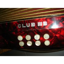 Sanfona Gaita Ponto 8 Hohner Club Iiib