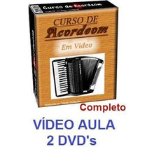 Acordeon! Aulas De Acordeon Em 2 Dvds! Pague Mercado Pago