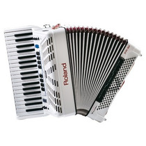 Acordeon Roland Fr3x Wh Branco Na Cheiro De Música Loja !!