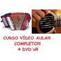 Acordeon E Violão Completo! 4dvd