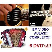 Acordeon+guitarra+violão Em 6dvd