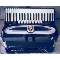 Acordeon Giulietti Mf 94 Oitavado 4l5 De Voz Impecável .