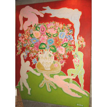 Adir Sodré Pintura Quadro Arte Moderna Brasileira Naif