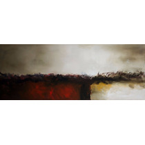 Quadro Pintura Tela Abstrato 50 Cm X 1,40 Metro