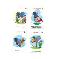 Lote Com 100 Cartões Sem Repetições
