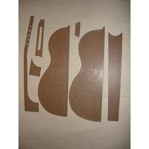 Kit Moldes:viola Caipira Cinturada Ou Clássica Eddie Luthier