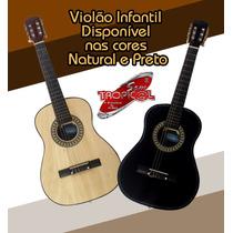 Violão Infantil Austin Cordas De Nailon Cor Natural 946nb