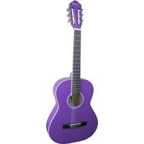 Frete Grátis - Thomaz Tcg-360 Violão Ny Infantil Purple Roxo