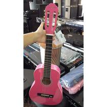 Violão Infantil Nylon Acústico Vogga Vca85 Pink (rosa)