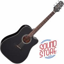 Violão Takamine Folk Gd15ce Blk Elétrico Sound Store
