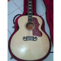 Violão Gibson J200,natural.