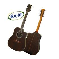 Violão Rozini Folk 12 Cordas Cutaway - Rx415at-ct
