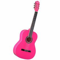 Violão Tagima Memphis Ac39 Clássico Nylon Rosa