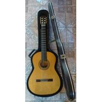 Violão Clássico Luxo 6 Cordas Luthier Rogério Santos