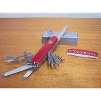Canivete Victorinox Suiço C/ Case Swiss Army Knives Faca