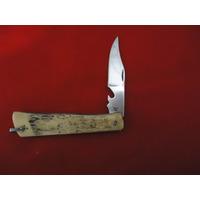Belo Canivete Colon Aço Inox Cabo De Rezina