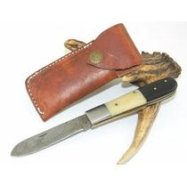Canivete Em Aço Damasco Utilitário - 252 Camadas