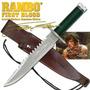Faca Rambo First Blood Original Certificado E Série