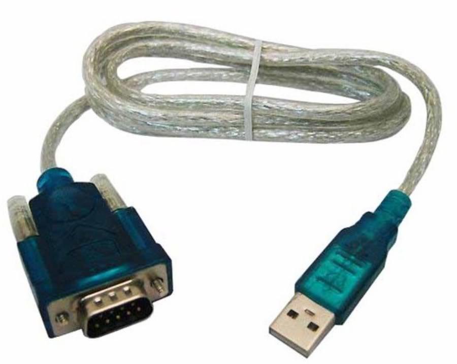ADAPTADOR SERIAL DB9 USB