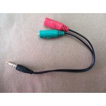 Adaptador P3 Macho Para 2 P2 (fone/microfone) Femea