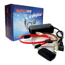 Cabo Adaptador Usb 2.0 Ide Sata Hd Dvd Conversor Pc Co031