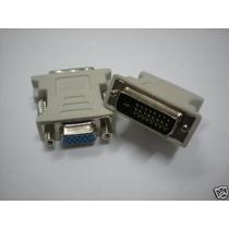 Adaptador Dvi-d M X Vga 24+1 Dual Link Cinza
